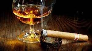 cigar with brandy