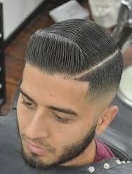 short hair pomp fade 1