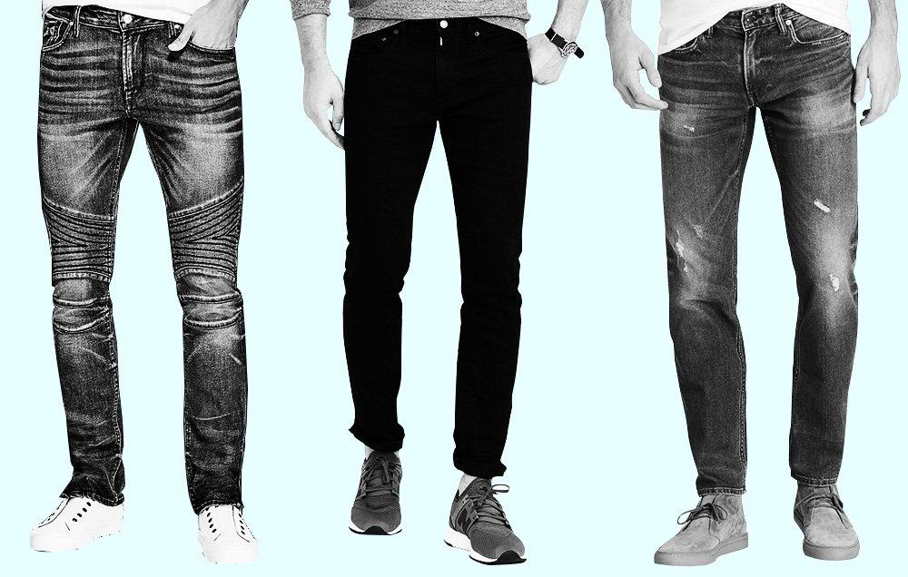 strecth jeans for men