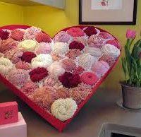 valentine heart filled